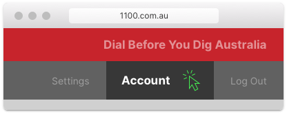 Dial Before You Dig Australia 1100 Account