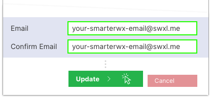 SmarterWX Locate Personal Email Address